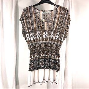 New with tags Ace Fashion Trendy Top, Size L